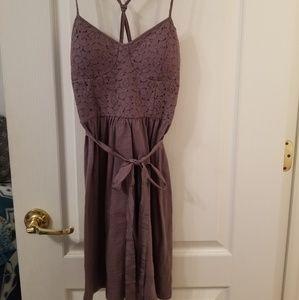 NwoT American Eagle Short Purple Lace Dress